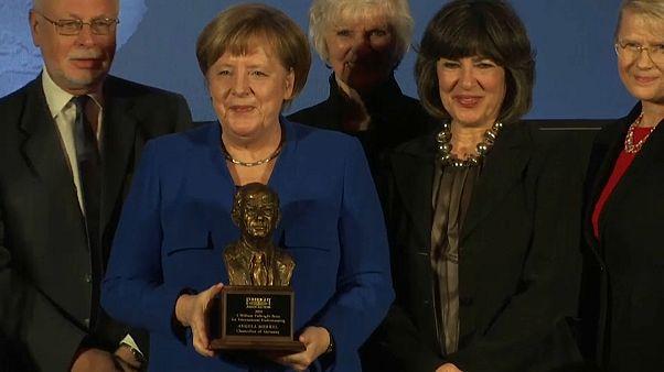 Fulbright-Preis für Merkel – Appell gegen Nationalismus