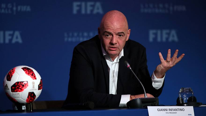 FIFA Başkanı Infantino: 2022 Dünya Kupası maçlarının bazıları Kuveyt'te oynanabilir