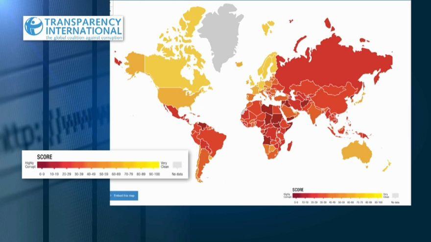 Опубликован индекс восприятия коррупции этого года