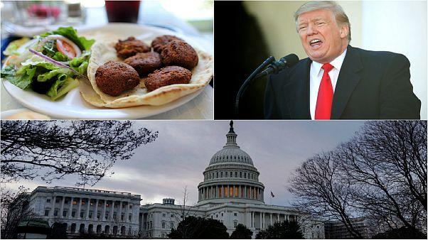 تعطیلی تاریخی دولت آمریکا؛ غذای رایگان یک رستوران سوری به کارمندان