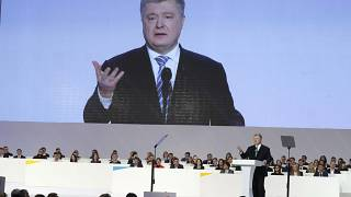 En Ukraine, le président Petro Porochenko candidat à sa succession