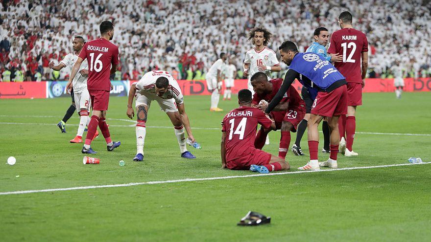 Asya Kupası yarı finalinde Katar - Birleşik Arap Emirlikleri gerginliği