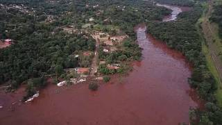 Au Brésil, le bilan de l'effondrement du barrage minier s'alourdit
