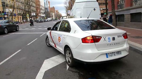 O dia-a-dia de um taxista em Espanha