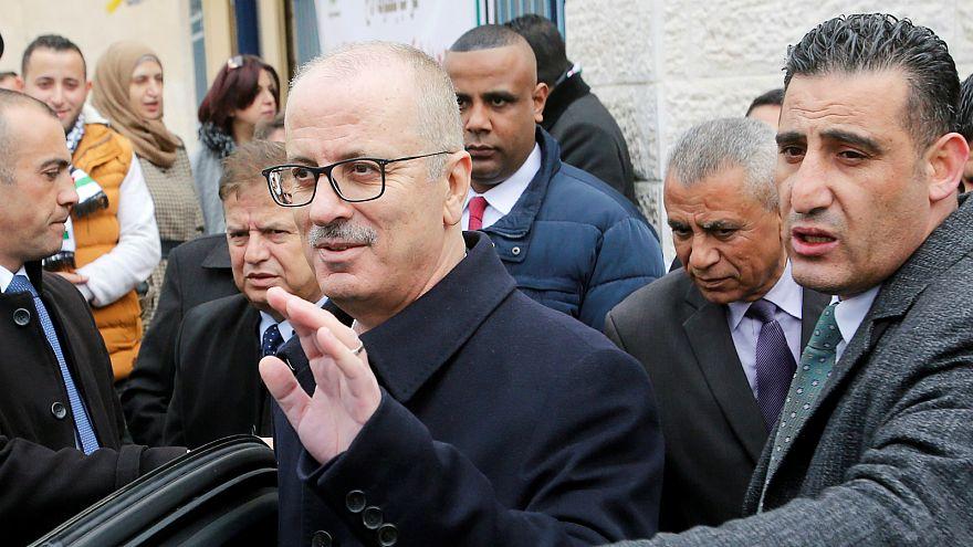 Filistin Devlet Başkanı Abbas, Hamdallah hükümetinin istifasını kabul etti