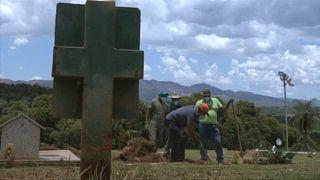 Vigília em memória das vítimas da mina de Brumadinho