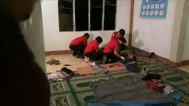 شاهد: قتيلان في اعتداء على مسجد بقنبلة في الفلبين