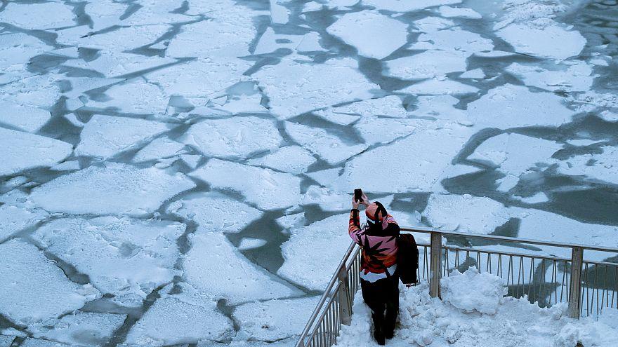EUA vivem temperaturas polares