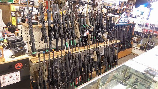 إنخفاض مبيعات الأسلحة في أمريكا خلال 2018