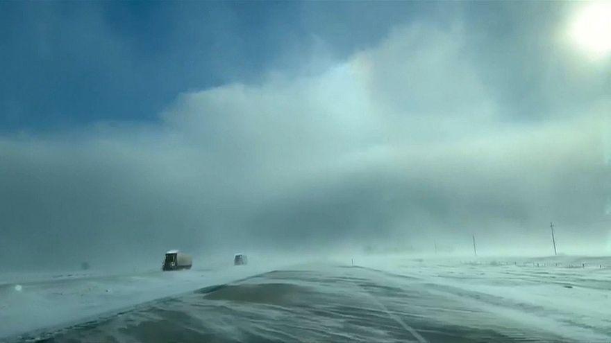 Les États-Unis touchés par un vortex polaire historique