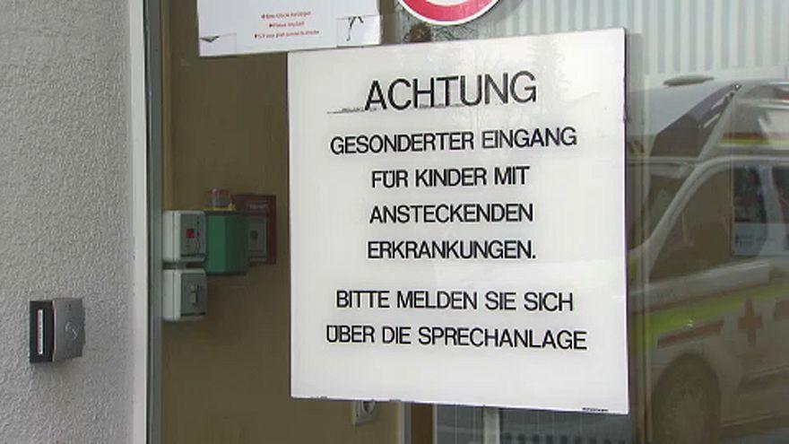 Kanyarójárvány tört ki Graz-ban egy klinikán