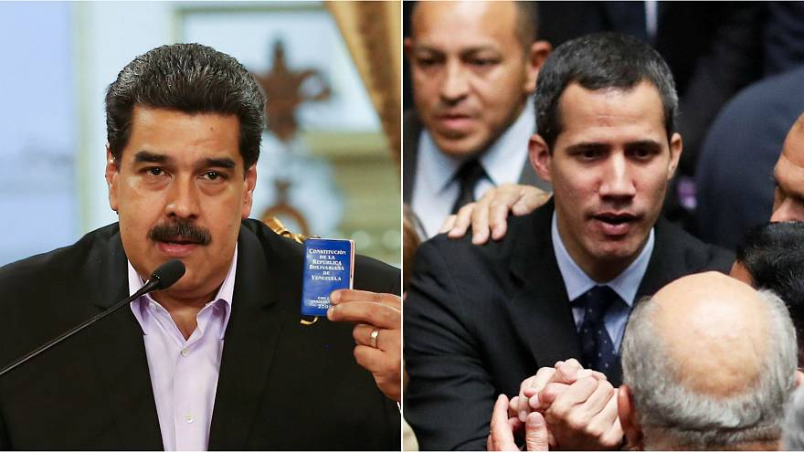 Venezuela power struggle as Juan Guaido given travel ban