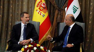 شاهد: ملك إسبانيا يزور العراق للمرة الأولى منذ 40 عاماً