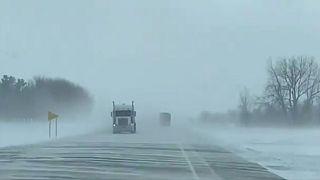 Arktische Winde und - 34°:  Millionen Amerikaner bibbern