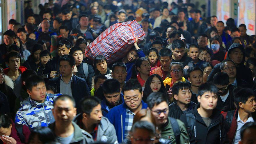 Dünyanın en büyük tatil hareketi başladı: Milyonlarca Çinli yolda