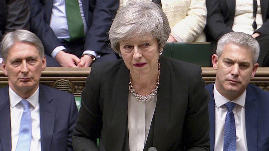 Winning UK Parliament vote on Irish backstop sent 'clear message' to EU: May