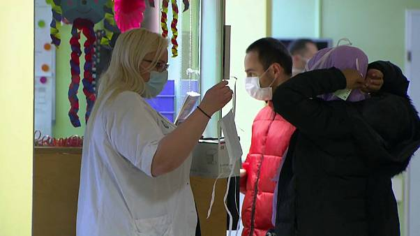 Вспышка кори в детской клинике
