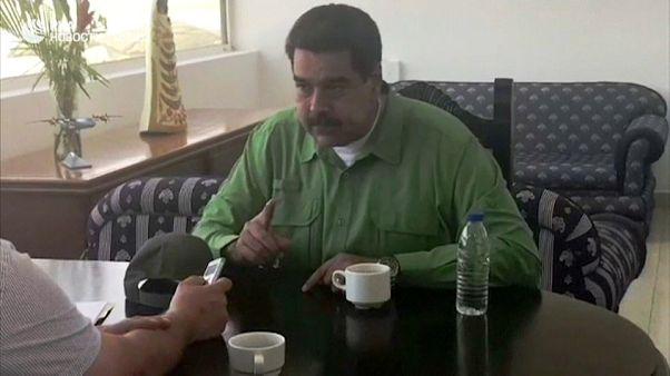 """Maduro non molla e apre al dialogo: """"Ma niente presidenziali"""""""