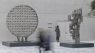 Εθνική Βιβλιοθήκη: Έκθεση με τα δημόσια γλυπτά του Γιώργου Ζογγολόπουλου