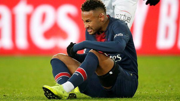 PSG : le retour de Neymar, blessé, attendu dans un délai de dix semaines