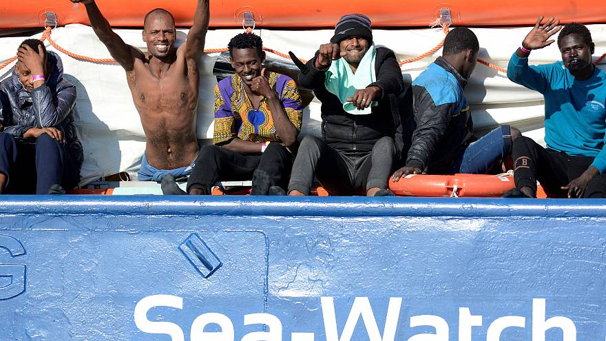Accord entre sept pays européens, les migrants du Sea-Watch vont pouvoir débarquer