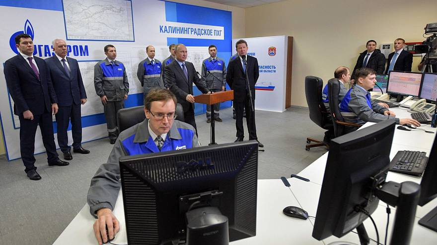 Mais de um terço do gás da Europa vem da Gazprom