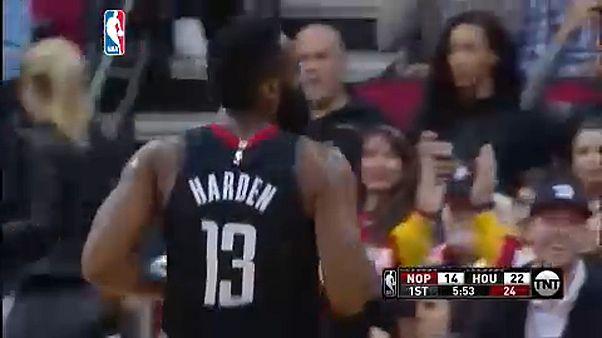 NBA: Harden félévszázados rekordja is kevés volt