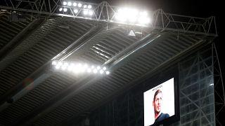 Schweigeminute im St James Park beim Spiel von Newcastle Udt. gegen ManCity