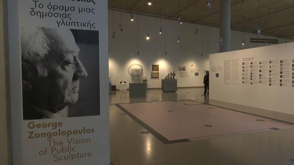 A escultura pública de George Zongolopoulos