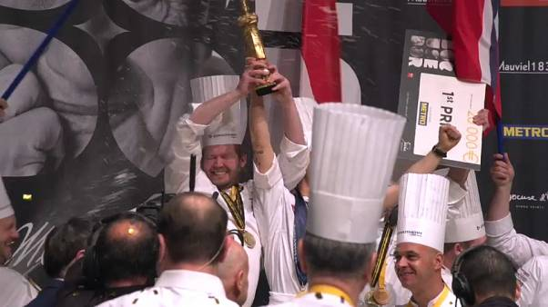 Denmark wins Bocuse d'Or 2019 'culinary Olympics'