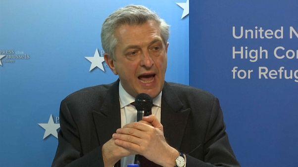 المفوض السامي لشؤون اللاجئين فيليبو غراندي