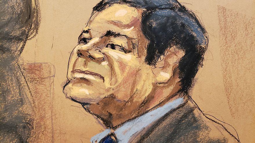 تاجر المخدرات خواكين غوزمان لويرا معروف باسم إل تشابو