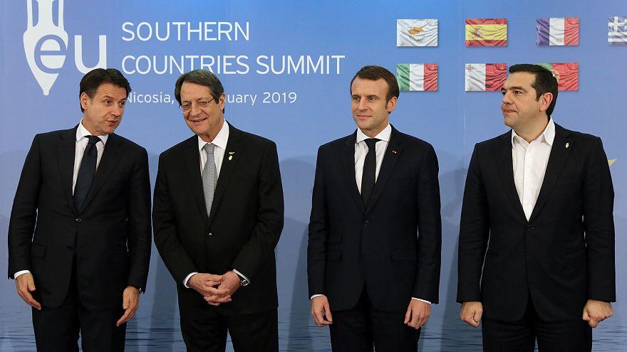 Güney Avrupa Ülkeleri Zirvesi'nden Türkiye'ye Kıbrıs ve doğal gaz çağrısı