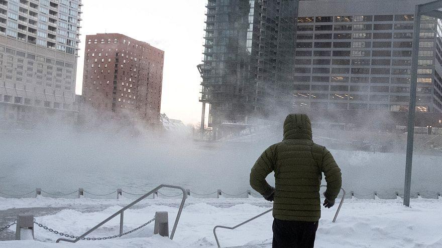 Polar vortex: Millions hit by freezing temperatures in US