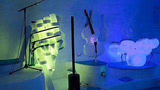 Κρυστάλλινη μουσική πάγου στους ιταλικούς παγετώνες