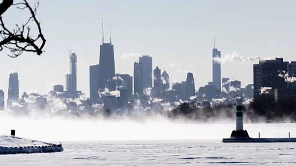 Keresik a rendkívüli hideg okát Amerikában