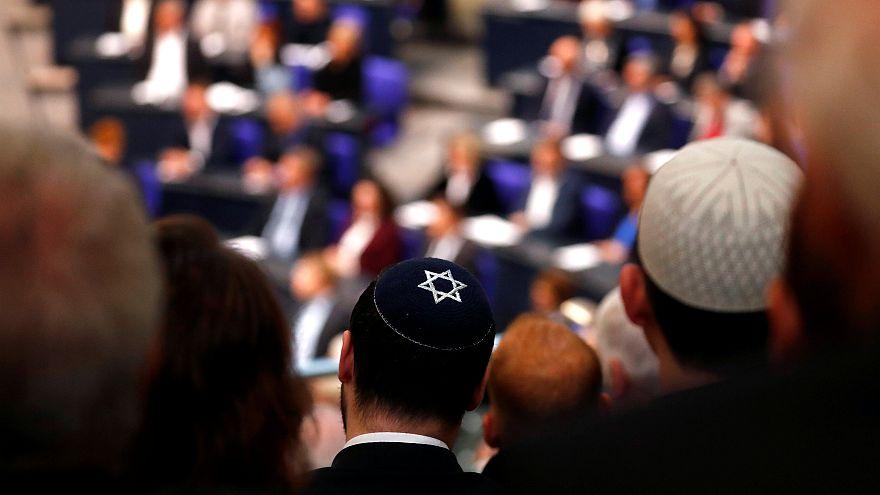 L'hommage du Bundestag aux victimes de l'Holocauste