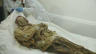 Video : Ekvador'da bulunan mumyada salgın hastalık araştırması