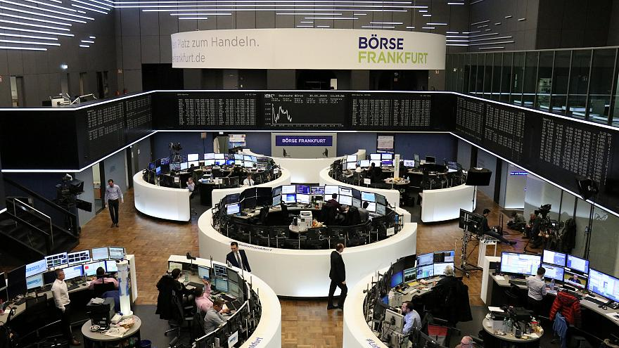 European shares snap three day winning streak; Air-France KLM, Beiersdorf sink