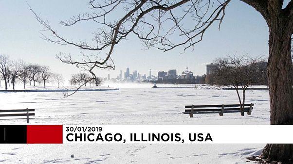 EUA enfrentam temperaturas negativas históricas
