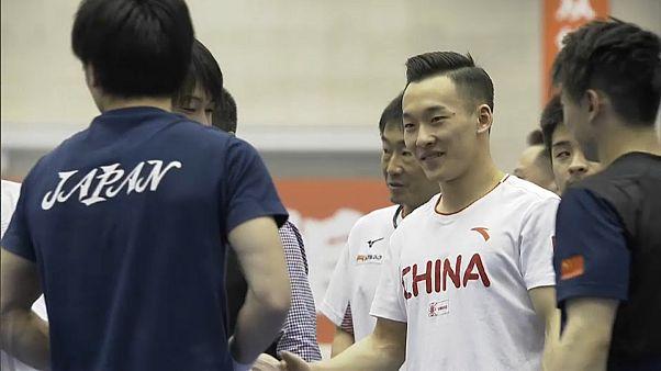 Gimnastas chinos y japoneses unen fuerzas y pasan una semana conjunta de entrenamientos