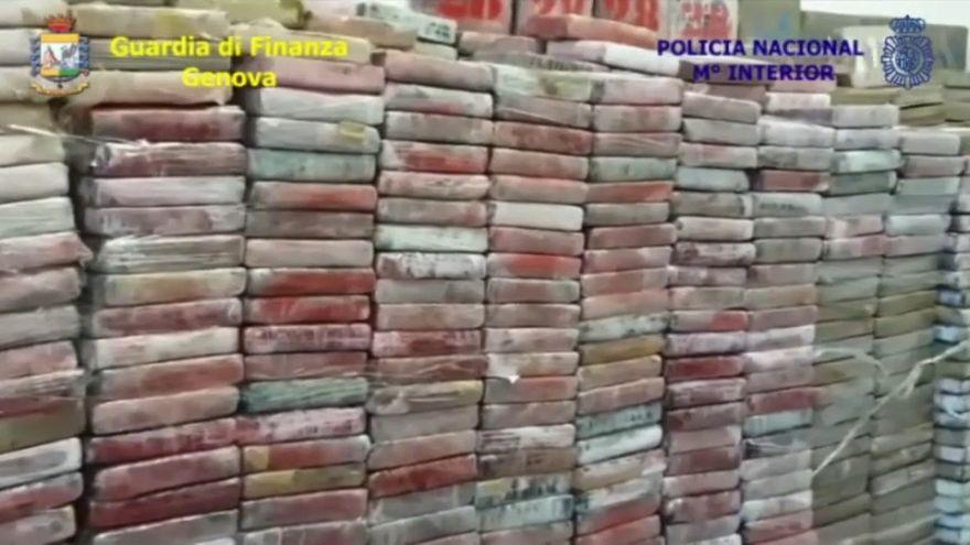 Kokain für 500 Millionen Euro beschlagnahmt