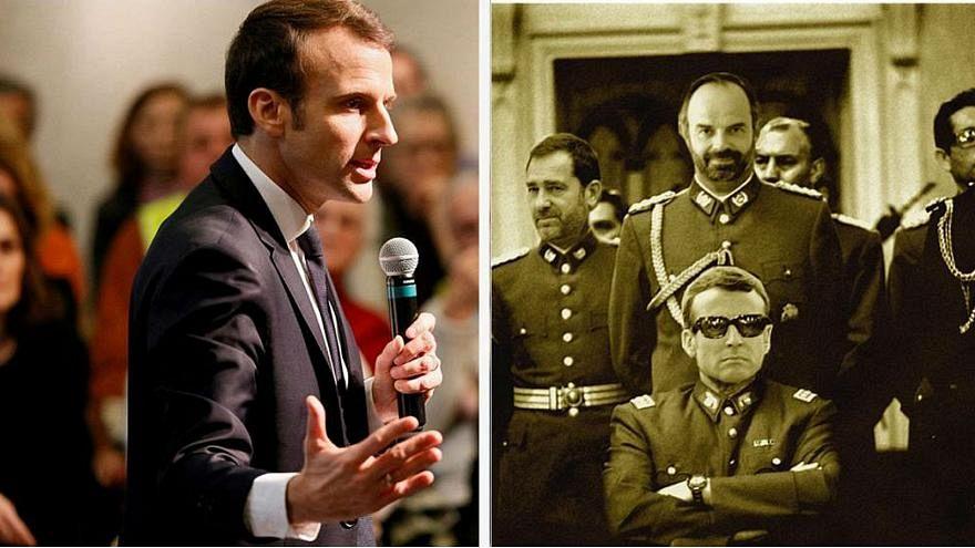 Francia, le autorità chiedono a Google di rimuovere il fotomontaggio di Macron su Pinochet