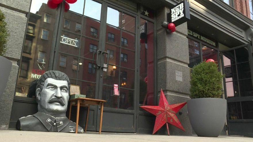 New-York : un musée au parfum de guerre froide