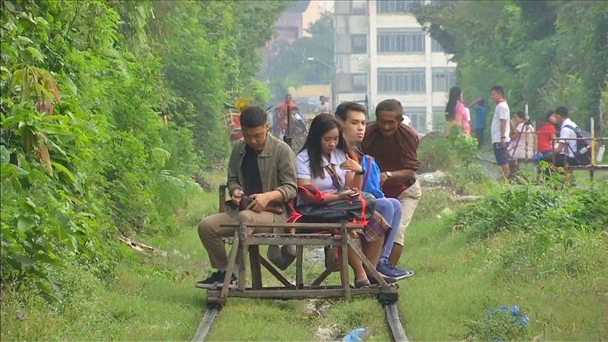 Manila-Trolley: Reisen auf eigene Gefahr