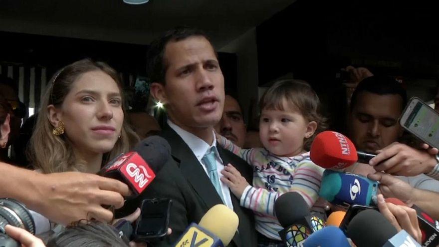 Venezuelan opposition leader's family threatened said Guaido