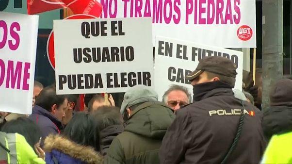 Les VTC abandonnent Barcelone