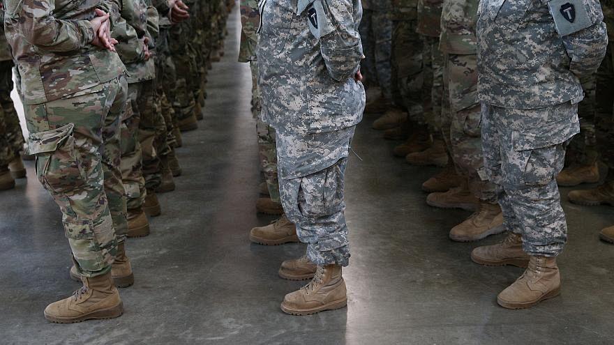جنود في الجيش الأمريكي