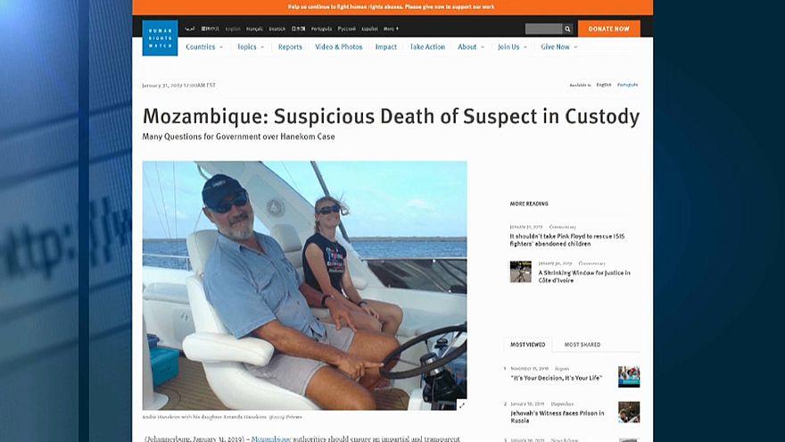 Human Rights Watch quer esclarecer morte de empresário sul-africano