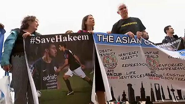 جانب من اعتصام في أستراليا